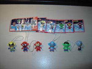 Komplettsatz Twistheads Marvel Superhelden aus Portugal mit allen BPZ !!!