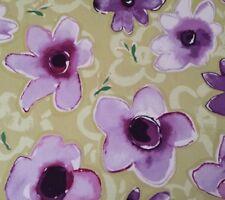 "Enchantment Sateen Promise Kathy Davis FreeSpirit BTY Floral Green 54"" Wide"
