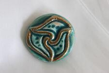 Bouton Ancien Céramique Créateur Artist French Ceramic Button Era Line Vautrin