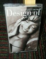 JANET JACKSON - DESIGN OF A DECADE 1986-1996 MUSIC CASSETTE TAPE, A&M RECORDS