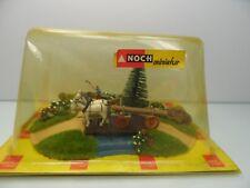 NOCH 948 - H0 - Diarama - Pferdefuhre mit Holzarbeiter - TOP in OVP - #8170