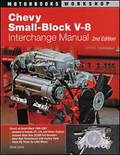 1968-2001 Chevy Small Block V8 Engine Parts Interchange Manual 400 350 305 LT1