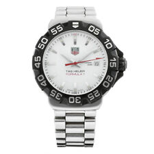 Tag Heuer WAH1111 Formula One 1 White Dial Stainless Steel Quartz Men's Watch
