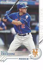 "2017 Topps Salute Rookie 5""x7"" 05/49 Gavin Cecchini New York Mets OVERSIZED"