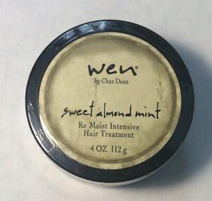 WEN by CHAZ DEAN SWEET ALMOND MINT RE-MOIST INTENSIVE HAIR TREATMENT 112g