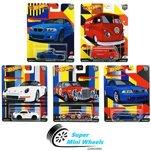 Hot Wheels Premium 2021 Car Culture C Case German Set of 5 Cars [In-Stock]