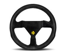 MOMO Steering Wheel Mod 11 Black Suede Leather 260mm
