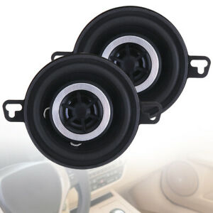2pcs 3.5 Inch 12V 200W Universal Car Horn with Coaxial Type and Full Frequency