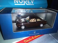 IXO MODELS 1/43 MASERATI BITURBO 1982 NEUF EN BOITE
