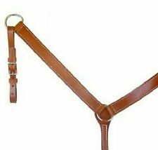 Circle Y Walnut Leather Tack Horse Breast Collar