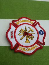 KOLUMBIEN  Feuerwehr orig.Fire Brigade Stoffabzeichen Ärmelabzeichen