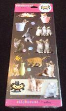 Stickeroni From Hallmark Kitten Cat Stickers 2 Sheets
