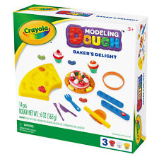 Crayola Bakers Delight Modeling Dough Kit Fun Holiday Toy Hands On Boys Girls