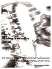 "My Bloody Valentine  24"" POSTER Loveless Promo Ad Creation Records Kevin Shields"
