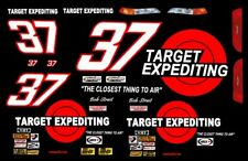 #37 Bob Strait Target Expediting 1/32nd Scale Slot Car Decals
