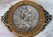 MED8589 - MEDAILLE PLAQUE - REGARDE St CHRISTOPHE ET VA-T-EN RASSURÉ