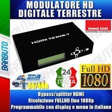 Emme Esse 87430 Modulatore Digitale HDMI to DVB-T - Nero