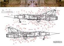 Hungarian Aero Decals 1/32 MIKOYAN MiG-23 FLOGGER Hungarian Stencil Data