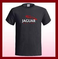 JAGUAR RACING Logo Muscle Car Classic NEW Men's Black T-Shirt S M L XL 2XL 3XL
