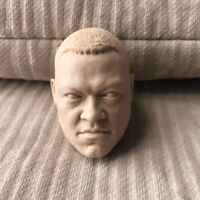 """Free Shipping blank 1/6 scale Head Sculpt Laurence Fishburne unpainted fit 12"""""""