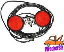 MAGNETIC TOW LIGHTS - WRECKER TOW TRUCK, CAR HAULER CARRIER - COMMERCIAL GRADE