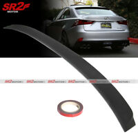 ABS Black Rear Roof Spoiler Wing Lip fits for 2014-2018 Lexus IS250 IS350