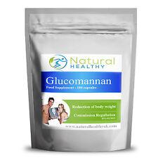 Glucomannan Konjac fibre Reduction of body weight pills  best natural diet pills