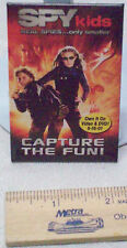 SPY KIDS REAL SPIES CAPTURE THE FUN Movie Pin Pinback EUC Promotional Picture