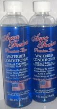 2 Bottles of 8oz Premium Waterbed Conditioner for Hardside & Softside Water Beds