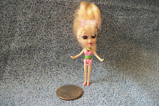 """Mattel 2004 Mini Princess Doll 2 1/4"""""""