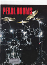VINTAGE MUSICAL INSTRUMENT CATALOG #10567 - 1983 PEARL DRUMS