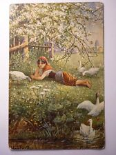 Antique German Postcard Herrfurth Agricolo Agricultural