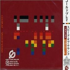 COLDPLAY Speed of Sound w/ 2 UNRELEASE TRX JAPAN PRESSING CD SEALED  2005