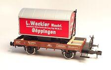 Märklin 58363 Musée 1998 2-achser Wagon À Bords Bas Wurtemberg Échelle 1 OVP