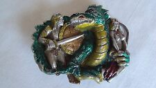 Great American Buckle Co Dragon Slayer Belt Buckle Limited Edition