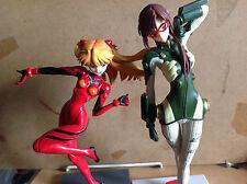 Neon Genesis Evangelion - Mari Makinami + Asuka Langley figures