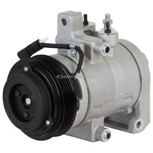 For Ford Mustang GT Shelby GT350 GT350R & GT500 AC Compressor & A/C Clutch