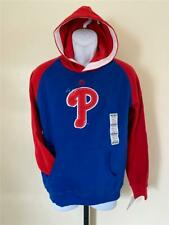 New Philadelphia Phillies Youth Size L Large Blue Hoodie