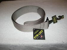 Cabela's Tite-Lock Web Belt - Desert Sand - Size XL NWT Fits up to 46""