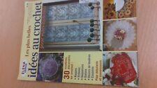 rare  revue magazine ELENA OUVRAGES les plus belles idees au crochet numero 24
