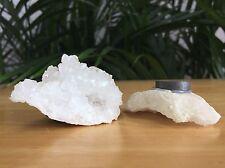 1 Natural Geode Magnet Geode Crystal Quartz Druze Cluster Gemstone Specimen.