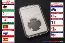 1 x New High Quality Coin Slab Holder (27 mm) For US $25 Gold / $50 Platinum