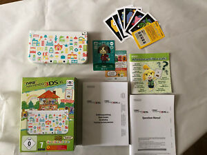 Console NeW NINTENDO 3DS XL | Animal Crossing Happy Home Designer | Excellent