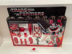 1985 Jetfire MIB Boxed Complete w/ Unapplied Decals G1 Vintage Transformers