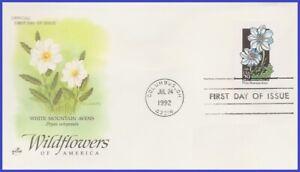 USA3 #2661 U/A ARTCRAFT FDC   White Mountain Avens Wildflower