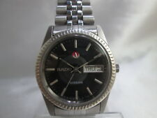 RADO VOYAGER DAYDATE STAINLESS STEEL AUTOMATIC MENS WATCH