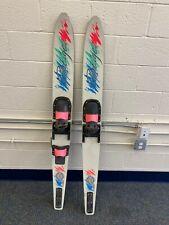 Vintage kidder prestige water skis