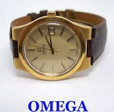 Vintage Gold Color OMEGA Automatic Watch 1970s Cal.1012* EXLNT Cond* SERVICED