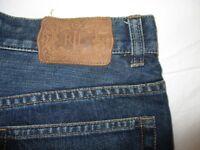 Lauren Jeans Co. Boot Cut Women Jeans Blue Denim Sz 4 Hi Waist Pant EE500