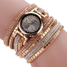 Elégante Montre Femme Quartz Long Bracelet Strass Neuve  PROMO